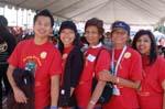 Volunteers at the Partnership Walk 08