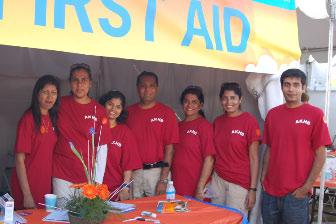 Volunteers at the Partnership Walk 09