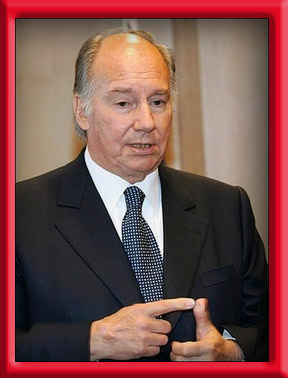 His Highness the Aga Khan January 07