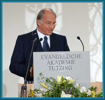 His Highness the Aga Khan Acceptance Speech of Tolerance Award 2006, Tutzing, Germany