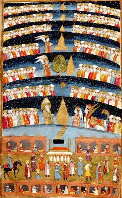 Miraj Prophets and Heavens