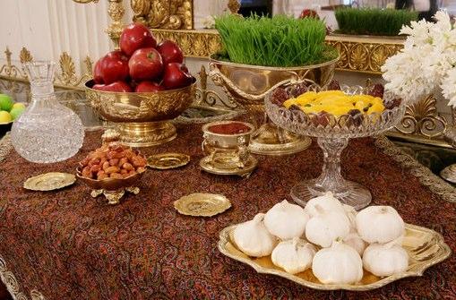 Haft Sin Table