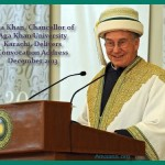 Aga Khan delivers Convocation address AKU 2013