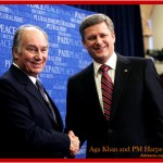 Aga Khan and Prime Minister Harper