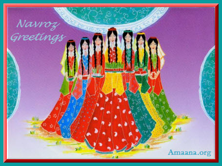 Nowruz Greetings from Amaana.org