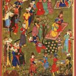 Shahnama Banquet - Shiraz, 1444 - Amaana.org