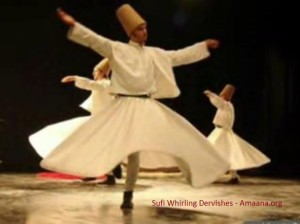 Sufi Whirling Dervishes - Amaana.org