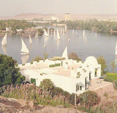 Aga Khan Residence by the river Nile