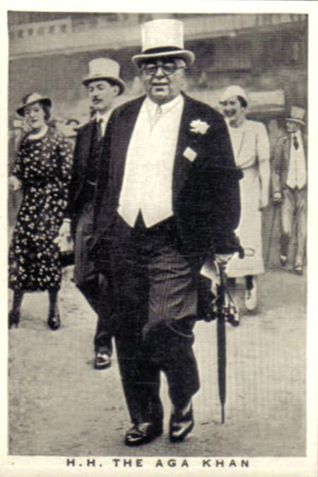 His Highness the Aga Khan III - 1936 Mowlana Sultan Mahomed Shah