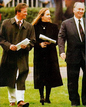 Mark Boyden, Princess Zahra, His Highness the Aga Khan